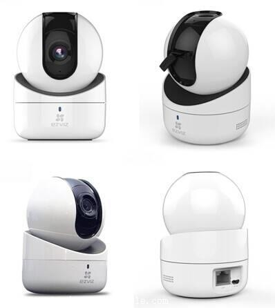 海康威视无线wifi监控摄像头 200万高清家用网络云台远程监控西安