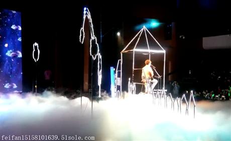 杭州舞台特效干冰机 干冰机启动道具租赁