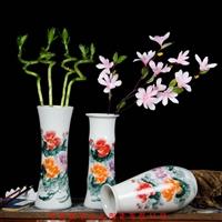 创意礼品陶瓷小花瓶套装,景德镇厂家批发