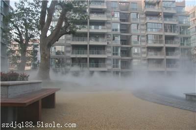 别墅花园绿化带人工造雾系统工程造价