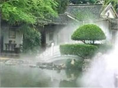 别墅花园绿化带人工造雾系统工艺流程