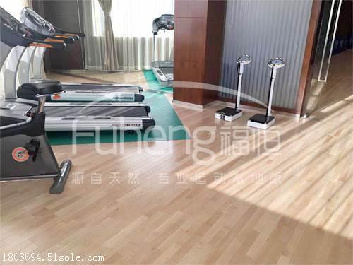 健身房运动木地板价格