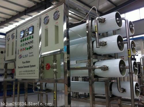 反渗透水处理设备功能说明
