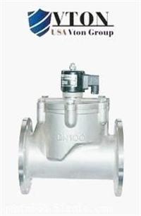 高端进口大口径先导式电磁阀品牌/美国威盾VTON阀门