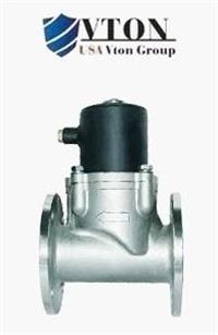 高端进口大口径零压差电磁阀品牌/美国威盾VTON阀门