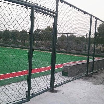 国帆室外球场围网 球场护栏网 体育场防护网
