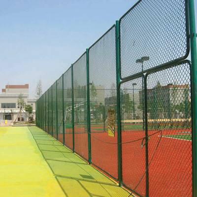 国帆足球场围栏网 篮球场护栏 球场勾花围网