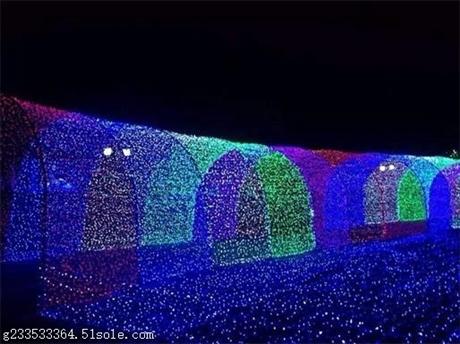 星光灯廊 梦幻灯光节 灯光节制作 灯光节造型厂家 灯光节租赁