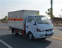 东风途逸易燃液体厢式运输车/小型涂料运输车