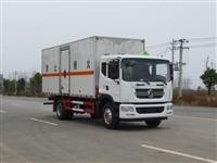 东风10吨易燃液体厢式运输车采购价格