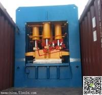 山东滕州钢木门液压机厂 2500T双动框架式压花机