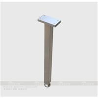 按尺寸定制可调金属单腿单边支撑吧台腿T型书桌腿定做