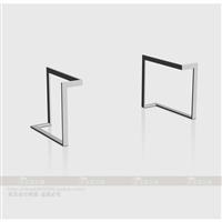 定制个性桌腿创意新颖桌架设计办公桌脚支架实木大板金属支撑