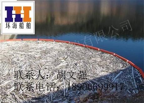 拦污浮排 拦污方案 拦污施工 白色垃圾拦污浮桶