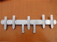 辙叉磨耗测量器