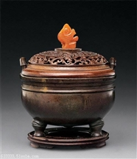 四川凉山州石叟款薰香炉哪里可以私下交易石叟款薰香炉