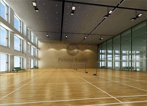羽毛球场运动木地板价格