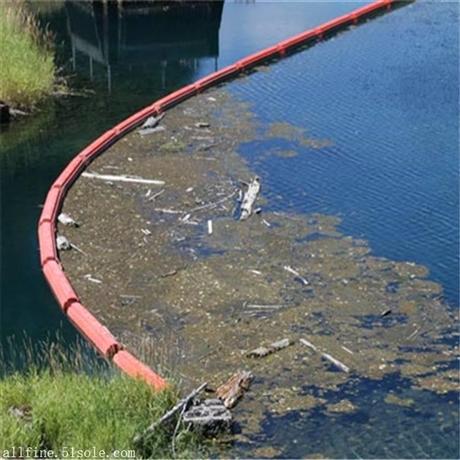 河道拦污浮体 挂网拦污浮筒 清淤拦污浮桶