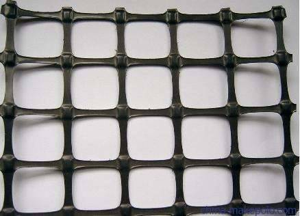 鲁威工程塑料有限公司常年加工塑料土工格栅  厂家直销无中间商
