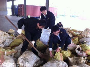 广州黄埔港码头矿石进口清关流程|进口清关费用