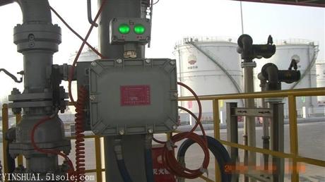 油库、炼化厂底装防溢流防静电控制器