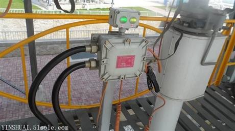 南京供应防溢流防静电控制器声光报警提示工作状况