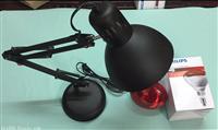 实验室用红外线灯,加热灯泡 250W 配国产灯架