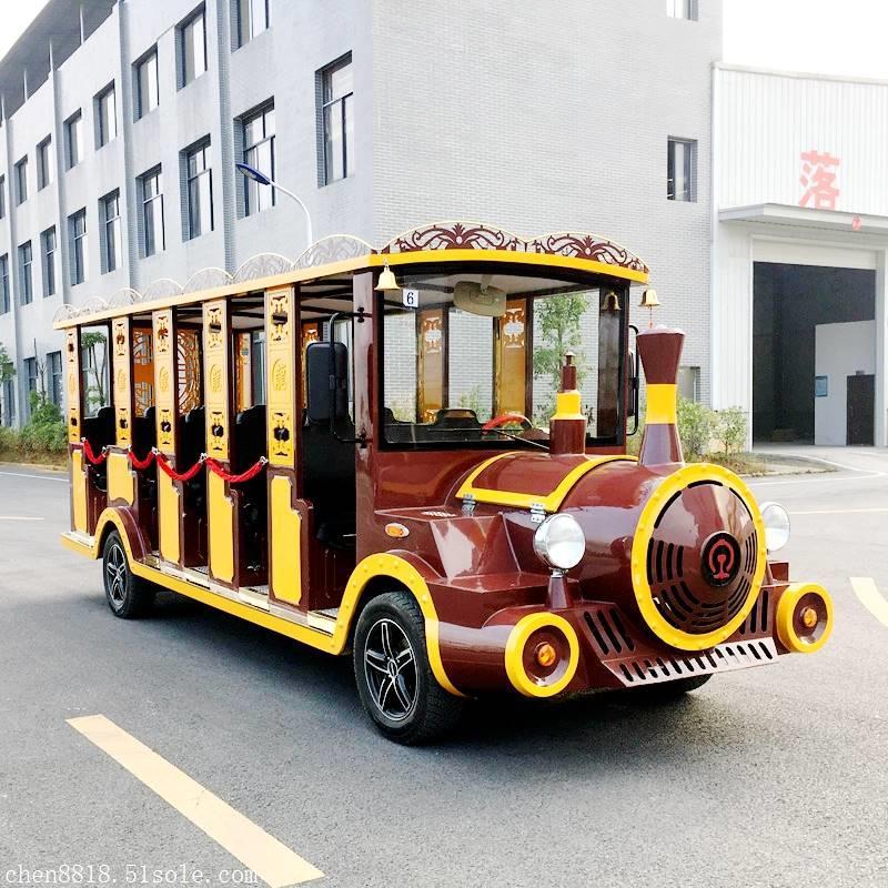 武汉14座钣金燃油观光小火车