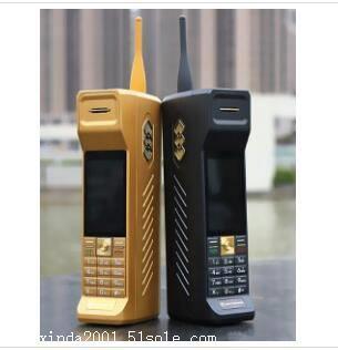 私人定制 2018新款 原装复古大哥大手机 魔音变声手机 采用美国变