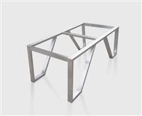 客厅装修定做不锈钢茶几架茶几腿创意新颖金属脚矮柜架定制