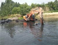 湿地挖机出租工程机械出租清於挖掘机租赁