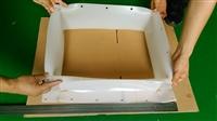 方形硅橡胶软连接硅胶制品生产工厂