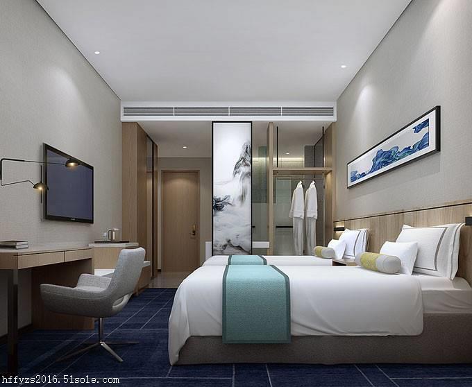 合肥商务酒店装修 快捷酒店设计 追求个性满足客户要求