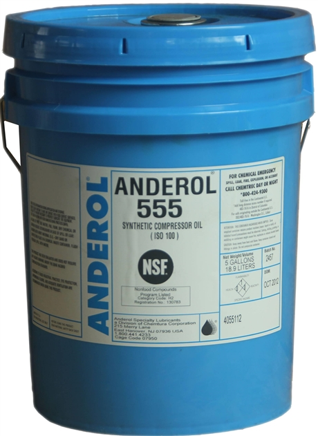 ANDEROL安润龙 555合成压缩机油真空泵油