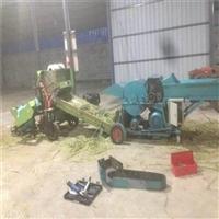 河南优质小麦秸秆打捆包膜机 青贮饲料打捆包膜一体机价格