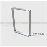 包邮回型口型不锈钢桌脚定制吧台单侧支撑腿电脑桌单脚支撑架