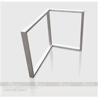订做L型桌腿 7字形桌架脚架转角组装书桌脚架吧台支撑腿