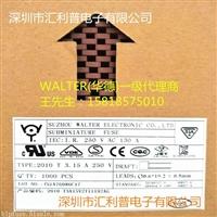 walter华德方型保险丝2010T800mA250V/300V慢熔断塑胶壳保险丝