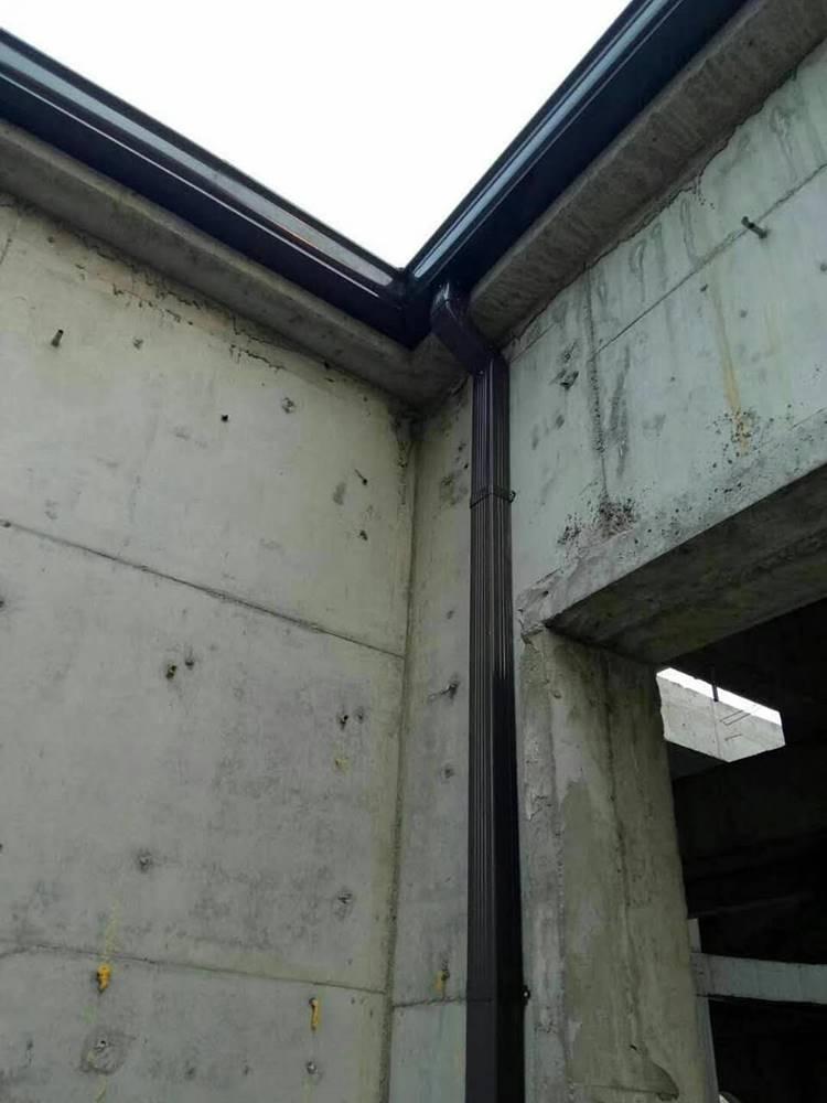 �e墅K型檐��r格屋檐接水槽