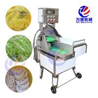 大型切菜机 商用叶菜类加工设备 瓜果切片机