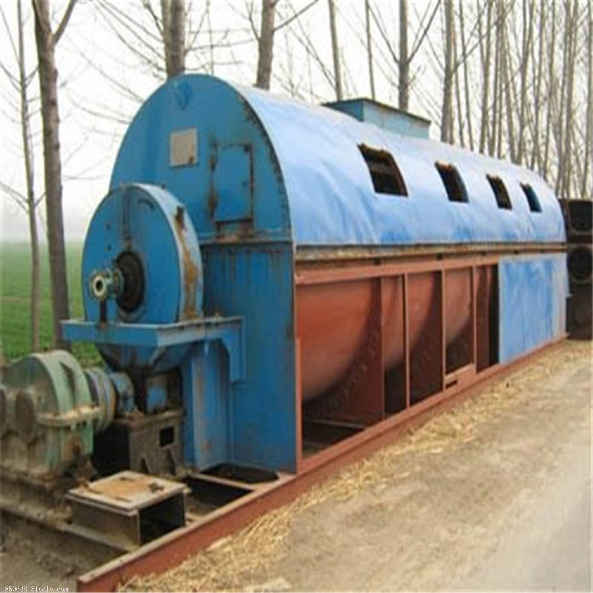 二手1.2米*12米滚筒烘干机滚筒干燥机价格多少