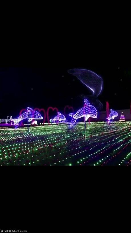 灯光节展彩灯专业供应 夜晚灯展览会策划公司灯光展租聘策划