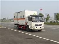 东风爆破器材运输车上户7.6吨厢长5米1