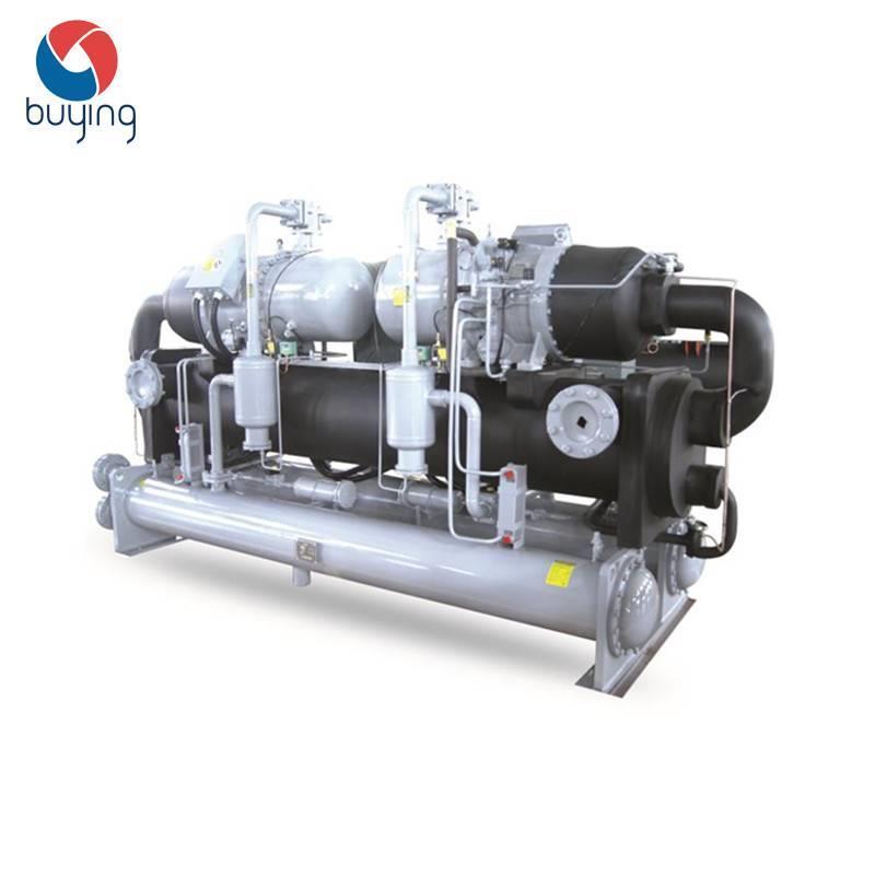 铝氧化表面处理工业水冷螺杆冷水机组