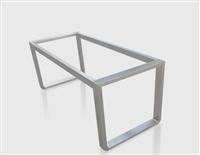 不锈钢桌架桌腿定制订做桌架可配实木桌面大理石桌面玻璃桌面