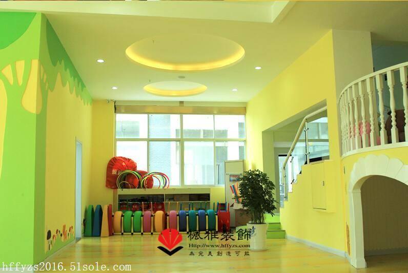 合肥早教中心装修 早教机构设计装修 合理规划利用空间