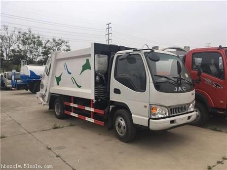 江淮康铃6方压缩式垃圾车详细参数及图片