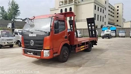 10吨挖机平板拖车厂家