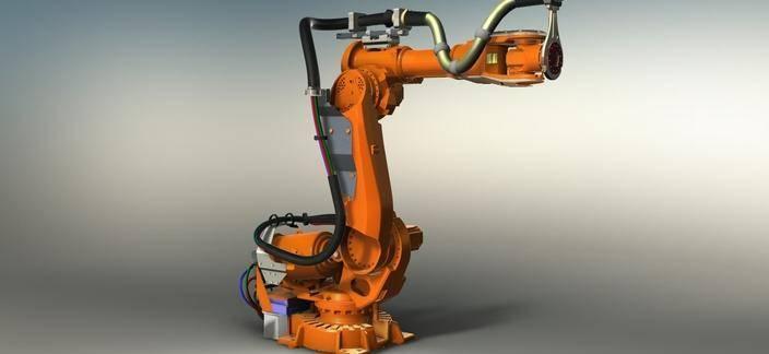 闲置ABB机械臂点焊机器人回收