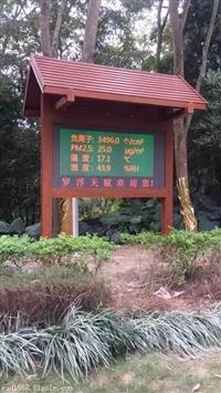 大气负氧离子实时在线监测 林业景区负氧离子监测系统 厂家直销